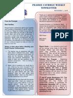 Newsletter 11 1 18