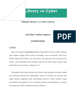 Manual Library vs Cyber Library
