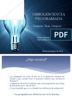 P. Gallardo Obsolescencia Programada  2016