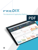 Predix the Industrial Internet Platform Brief