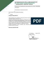 SURAT Permohonan Rekomendasi Izin Operasional Sekolah