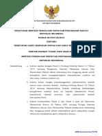 Peraturan PUPR No 28 Th 2015