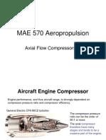MAE 570 Axial Compressors,A_S