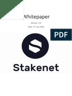 Whitepaper Stakenet V3.0 En