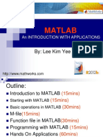 02 Introduction to MATLAB