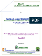 Ganapathi Sugars Ltd., Medak Dist. - EIA Report