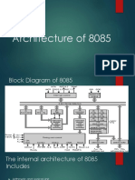 1-Architecture of 8085