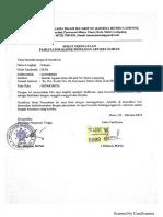 Contoh Surat Ketarangan Fasilitator Klinik Penulisa Jurnal