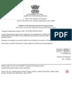 Sab Name Change Certificate