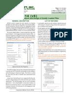 A-Pile Description Sheet