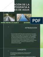 Canales de Agua - RAFAEL
