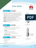 HUAWEI Distributed Power System Datasheet