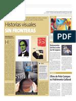 Denegri Davies, Pierina. (1 de noviembre de 2018). Historias visuales sin fronteras. Perú21, p. 10.
