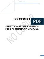 Espectros de Diseño Sísmico CFE 2015