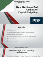 New Heritage Doll Company Capital Budget (1)