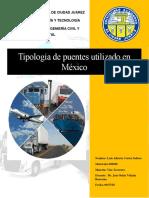 Tipologia de Puentes Utilizados en México