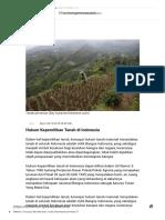 Hukum Kepemilikan Tanah di Indonesia.pdf