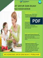 Manfaat Sayur dan Buah Bagi Keluarga