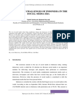 Democratic Challenges of Indonesia in the Social Media Era