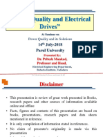 Power Quality and Electrical Drives