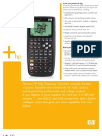 HP 50g Graphing Calculator - DataShet
