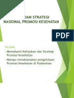 Kebijakan dan Strategi KPP