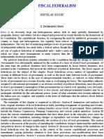 05. Nirvikar Singh - Fiscal Federalism