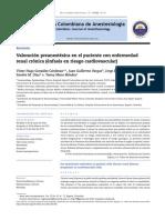 valoracion prenaestesic