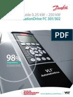 Danfor f302 Selection Guide