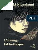 Haruki Murakami - L'étrange bibliothèque.-EBOOK-GRATUIT.CO.EPUB