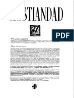 REVISTA CRISTIANDAD - Numero 1 - 1944