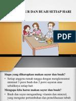 PHBS (Makan Sayur Dan Buah Setiap Hari) (1)
