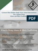 Dera Sacha Sauda Chief Gurmeet Ram Rahim views on Drug Addiction