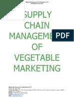 Supply Chain Management of Vegetable Marketing [www.writekraft.com]