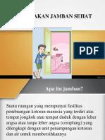 PHBS (Menggunakan Jamban Sehat)