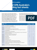 Overview Auditors Factsheets[1]