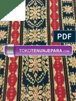 TOKOTENUNJEPARA.com - 085859122388 - Jual Kain Tenun Jepara Terbaru