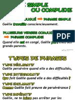 Types de Phrases Details