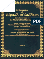 An Explanation of Riyadh Al Saliheen