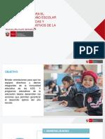Orientaciones Para El Desarrollo Del Año Escolar 2019