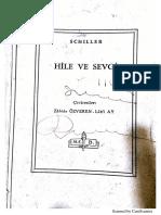 Hile ve Sevgi-Schiller (Kabale und Liebe)