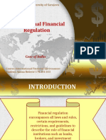 International Financial Regulation (India) - Amina Ibisevic