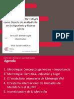 Importancia de La Metrologia en El Peru