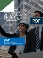 Brochure - Doctorado en Dirección de Proyectos - Universidad Benito Juarez