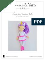 Linda the Unicorn Doll