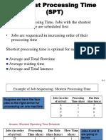 86297086 Shortest Processing Time SPT