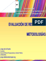 Evaluacion Programas y Comprehensiva