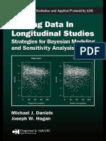 Michael J. Daniels, Joseph W. Hogan - Missing Data in Longitudinal Studies_ Strategies for Bayesian Modeling and Sensitivity Analysis (Chapman & Hall CRC Monographs on Statistics & Applied Probability) (2008).pdf