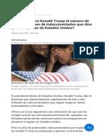 ¿de Dónde Sacó Donald Trump El Número de Hasta 3 Millones de Indocumentados Que Dice Querer Deportar de Estados Unidos