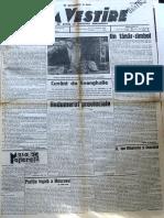 Buna Vestire anul I, nr. 58, 30 aprilie 1937